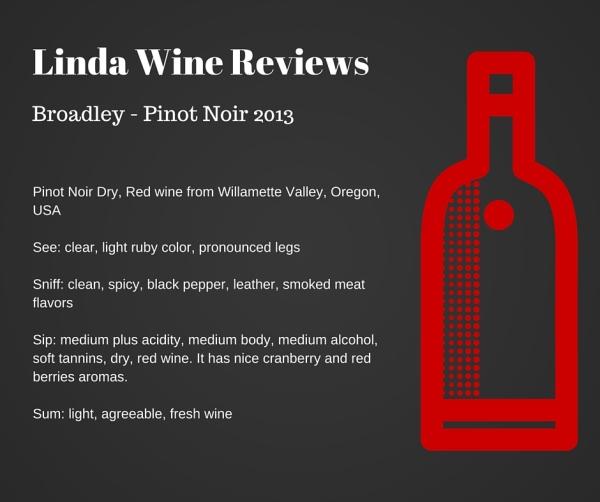Broadley - Pinot Noir 2013