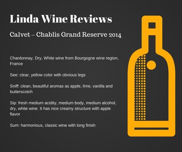 Calvet – Chablis Grand Reserve 2014