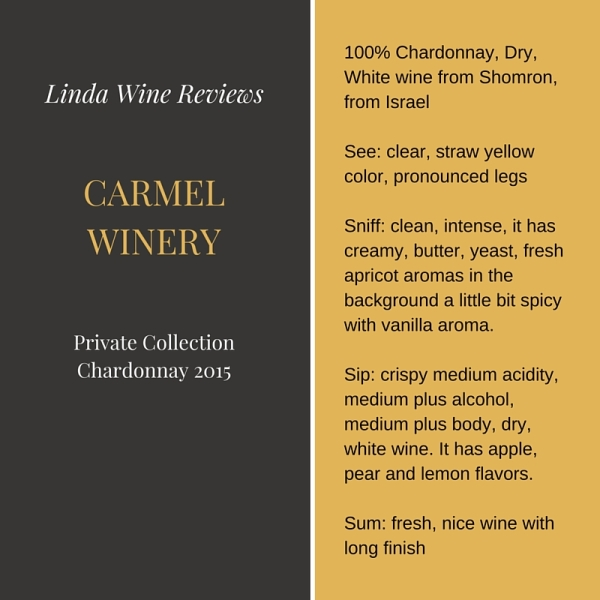 Carmel – Private Collection Chardonnay 2015