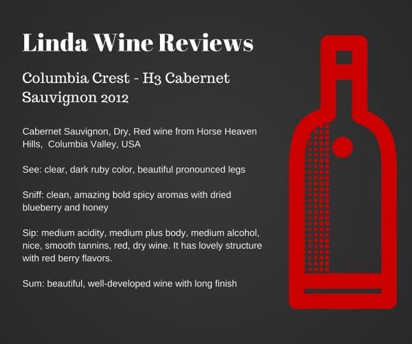 Columbia Crest - H3 Cabernet Sauvignon 2012