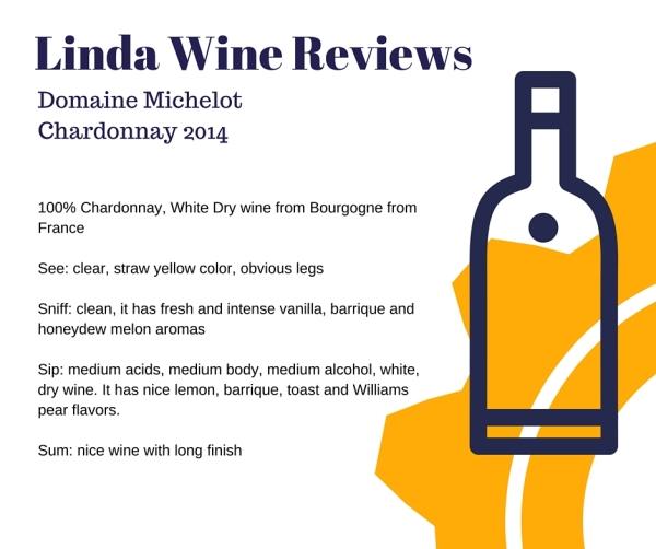 Domaine Michelot - Chardonnay 2014