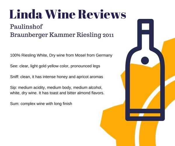 Paulinshof - Braunberger Kammer Riesling 2011