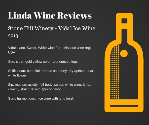 Stone Hill Winery - Vidal Ice Wine 2013