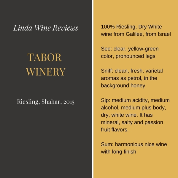 Tabor Riesling 2015